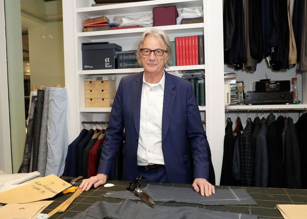 Paul Smith: the designer founded his business 50 years ago with savings of £600. Photograph: John Phillips/Getty