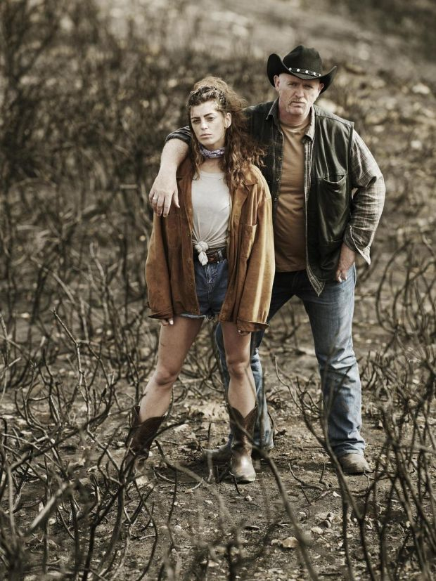 Aoibhínn McGinnity as Roslyn and Aidan Kelly as Gay in The Misfits: 'I suspect 60 or 70 per cent of those going in won't have seen the film,' Ryan says. 'But they'll know the iconography.' Photograph: Ros Kavanagh