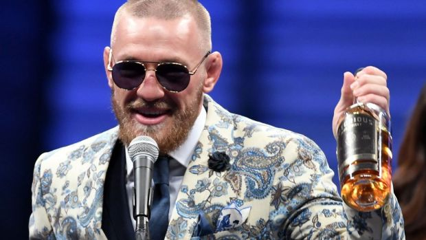 McGregor's original plans for 'Notorious whisky' differ from the finished product