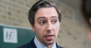 Minister for Health Simon Harris has rejected claims by People Before Profit TD Bríd Smith that outsourcing was the central issue of the CervicalCheck controversy.  Photograph: Gareth Chaney Collins