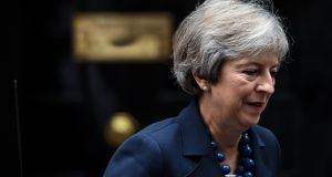 "Sources said Theresa May remained solidly committed to the British pledge in December to a ""backstop"" for Northern Ireland. Photograph: Jack Taylor/Getty Images"