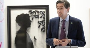Minister for Health Simon Harris at launch of the HSE's HPV Vaccine Information Campaign at the Royal Hibernian Academy Gallery, Dublin. Photograph: Dara Mac Dónaill/The Irish Times