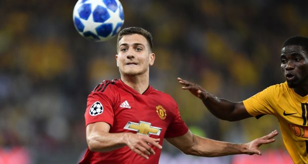 e1991210da 19-year-old summer signing Diogo Dalot made his Manchester United debut in  the