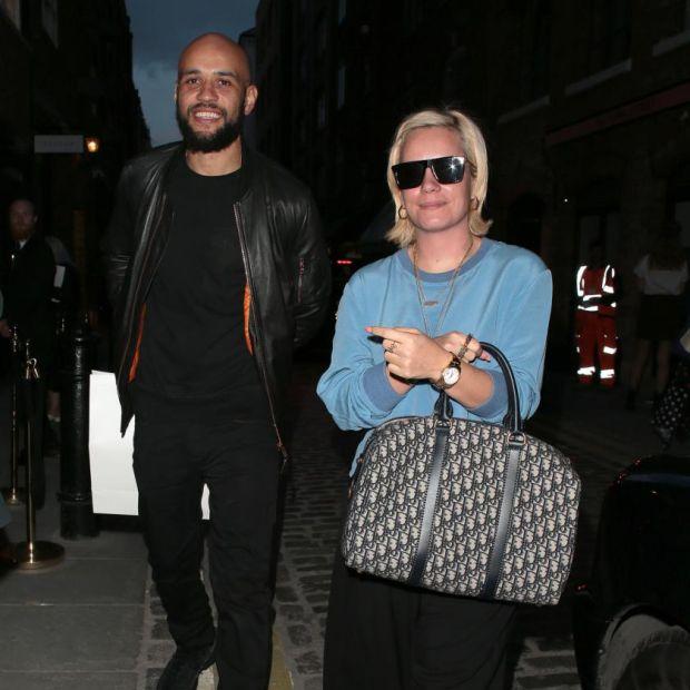 367f4a807efbe3 New partner: Lily Allen with her boyfriend, Daniel London, in London in May