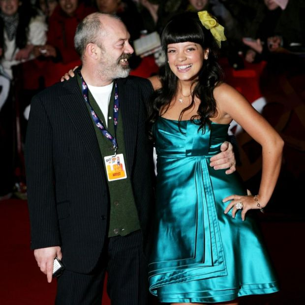 50447c867675b9 Lily Allen: the singer with her father, Keith Allen, in 2007. Photograph