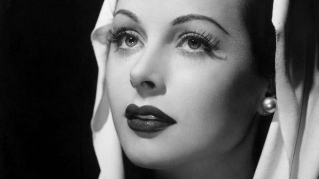 Hedy Lamarr in 1944, around the time she was helping the Allied war effort