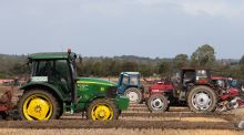 The National Ploughing Championships in Screggan, Tullamore, Co Offaly. Photograph: Tom Honan