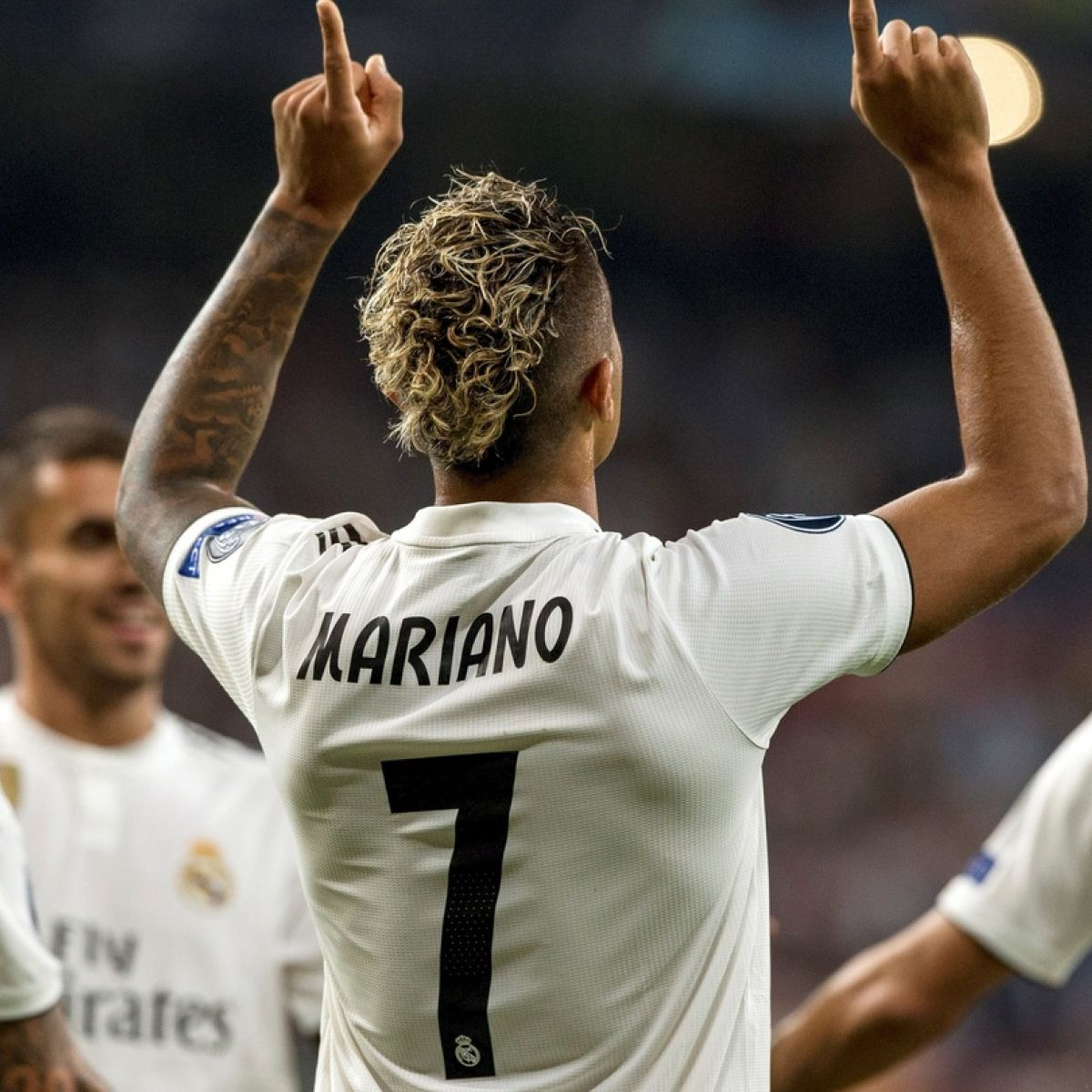 sale retailer 144db 70d87 Real Madrid's new No 7 - Mariano Díaz is one to watch