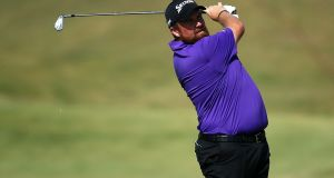 Shane Lowry during the first round of the Portugal Masters at Dom Pedro Victoria golf course. Photograph: Jan Kruger/Getty Images