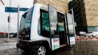 Driverless bus takes to the streets of Dublin