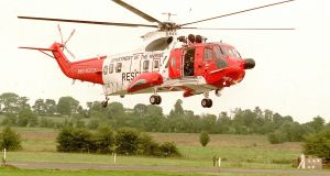 A report into civil search and rescue flights has found a 'disconnect' between agencies with regards to whois responsible for safety and legal oversight. Photograph: The Irish Times