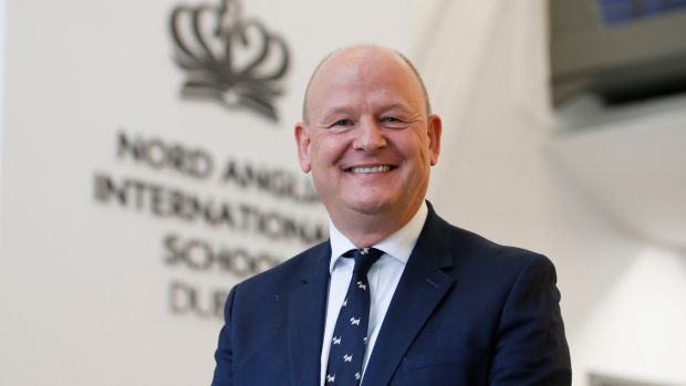 Paul Crute, Principal, Nord Anglia International School. Photograph: Nick Bradshaw for The Irish Times