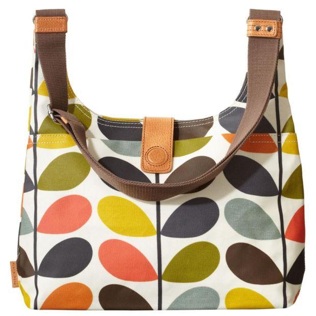 Orla Kiely: the designer's trademark sling bag