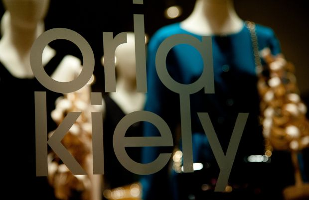 Orla Kiely: the Irish designer's flagship New York store opened in 2011. Photograph: Dave Kotinsky/Getty