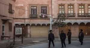 Kashgar in China's Xinjiang province: Tensions between Uighurs and the ethnic Han majority in China have intensified, and hundreds have died in terror attacks and unrest. Photograph: Gilles Sabrié/The New York Times