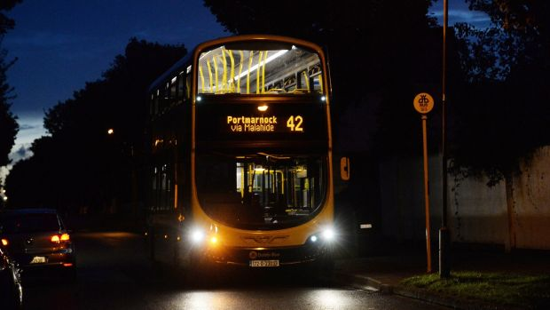 The 42 bus, which serves Portmarnock, is due to be scrapped under the proposed bus changes. Photograph: Cyril Byrne / THE IRISH TIMES