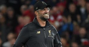 Liverpool manager Jurgen Klopp: I loved how we defended against Spurs and PSG. Photograph:   Getty Images