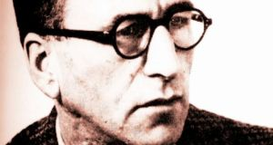 "Patrick Kavanagh: ""Through a chink too wide there comes in no wonder."""