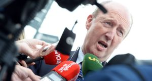 Shane Ross: retreats again and again to the comforts of his constituency. Photograph: Eric Luke/The Irish Times