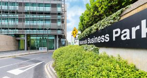 Blackrock Business Park in south Co Dublin