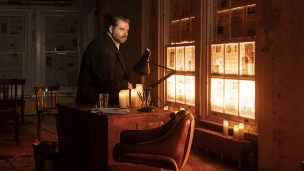 Brendan Coyle in 'St Nicholas' by Conor McPherson, in Smock Alley Theatre as part of Dublin Theatre Festival. Photograph: Helen Maybanks