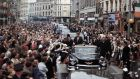 US President John F Kennedy in Dublin in 1963. Photograph: Photo 12/UIG via Getty Images