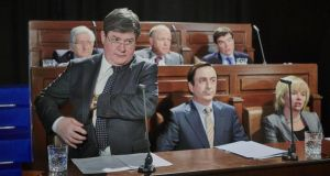 The Bailout: Denis Conway as Taoiseach Brian Cowen in Colin Murphy's TV version of his play Bailed Out!