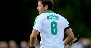 Ronan Gormley has announced his retirement from international hockey. Photograph: James Crombie/Inpho