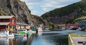The charming fishing village of Quidi Vidi. Photograph: Destination St John's