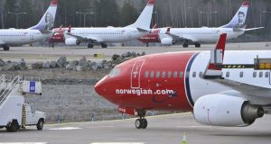 Norwegian last year launched services to Stewart International Airport in New York state and Providence, Rhode Island. Photograph: Johan Nilsson/TT News Agency/Reuters