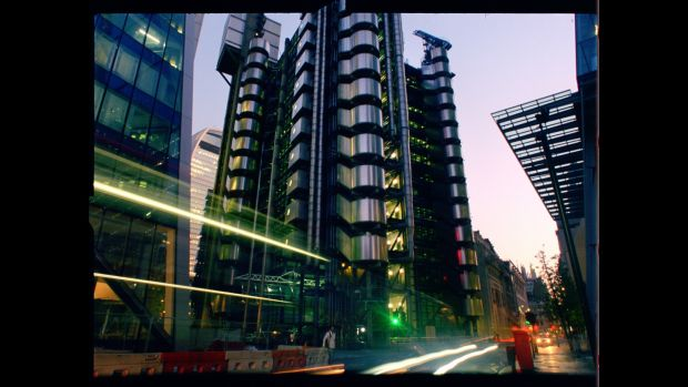 Lloyd's of London. From 'An Engineer Imagines'