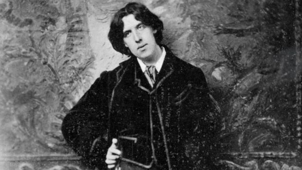 Oscar Wilde: on release from prison, he changed his name to Sebastian Melmoth.