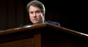 Brett Kavanaugh is facing mounting allegations of sexual impropriety. Photograph: Erin Schaff/ The New York Times