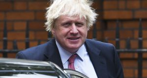 "Boris Johnson: his  Brexit campaign statement that the UK sends  ""£350 million a week to the EU"" is the subject of a prospective court case. Photograph: Steve Back/Getty Images"