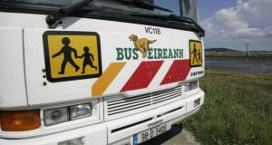 Bus Éireann's acting chief executive, Stephen Kent, acknowledged that the service could do better, but insisted that '98-99 per cent' of children were getting to school.