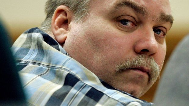 Steven Avery listens to testimony in the courtroom at the Calumet County Courthouse in Chilton, Wisconsin in 2007. File photograph: Morry Gash/AP