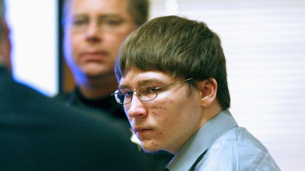 Brendan Dassey appears in court at the Manitowoc County Courthouse in Wisconsin in 2007. File photograph: Dan Powers/The Post-Crescent/AP