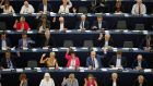 Members of the European Parliament in Strasbourg, France. Photograph: Vincent Kessler/Reuters
