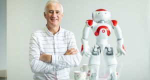 "Prof Brian Fitzgerald, director of Lero, the SFI Irish Software Research Centre: ""People . . . have observed how artificial intelligence and machines have replaced bank staff and supermarket checkout operators."" Photograph: Sean Curtin"