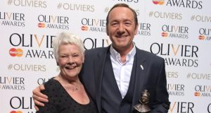 Judi Dench and Kevin Spacey: the actors in London in 2015. Photograph: David M Benett/Getty