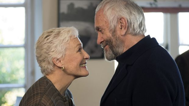 New this week: Glenn Close and Jonathan Pryce in The Wife