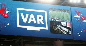 The Uefa executive committee have decided to introduce VAR to the Champions League. Photograph: Reuters