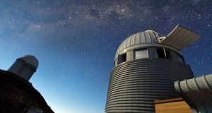 At 2400 metres above sea level in the southern part of Chile's Atacama Desert, La Silla was ESO's first observation site. Photograph: European Southern Observatory