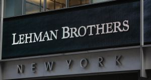 Lehman Brothers collapsed weeks before the Irish government issued its blanket bank guarantee.