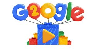 The 20th anniversary of Google Doodles.
