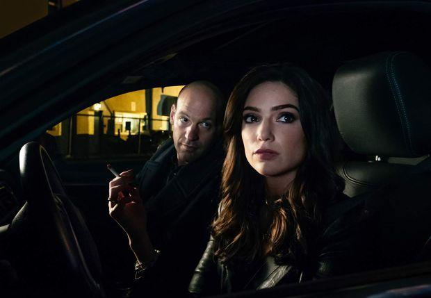 Corey Stoll and Janet Montgomery in The Romanoffs. Photograph: Amazon Prime