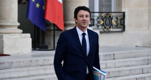 French Government's spokesperson Benjamin Griveaux. Photograph: Philippe Lopez/AFP/Getty Images