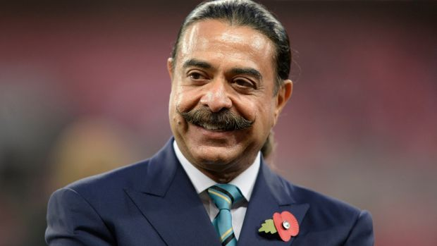Fulham and Jacksonville Jaguars owner Shahid Khan. Photograph: Andrew Matthews/PA Wire.