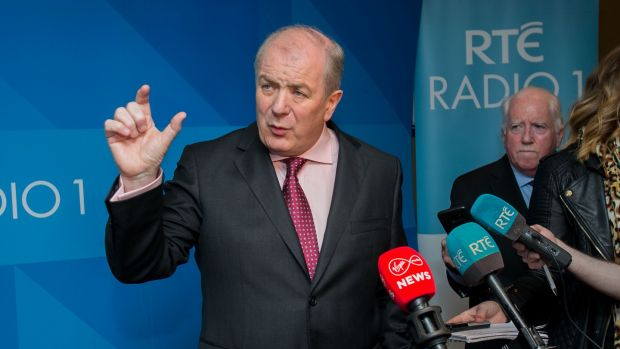 Presidential candidate Gavin Duffy: steered a bland middle line. Photograph: Gareth Chaney/Collins