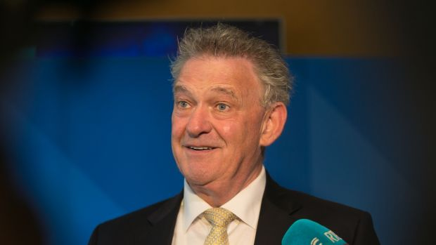 "Presidential candidate Peter Casey: ""What has Seán Gallagher done in the last seven years other than sue the taxpayer?"" Photograph: Gareth Chaney/Collins"